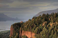 Crown Point, Columbia River Gorge , Oregon