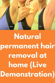 Natural permanent hair removal at home (Live Demonstration) At Home Hair Removal, 1 Cup, Body Care, Juice, Beauty Hacks, Salt, Lemon, How To Remove, Platform