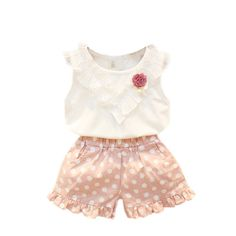 $5.23 (Buy here: https://alitems.com/g/1e8d114494ebda23ff8b16525dc3e8/?i=5&ulp=https%3A%2F%2Fwww.aliexpress.com%2Fitem%2FSummer-Baby-Girls-Christmas-Outfit-Clothing-Sets-Children-Necklace-T-shirt-Pants-Kids-2-pcs-Clothes%2F32708376933.html ) Summer Baby Girls Christmas Outfit Clothing Sets Children Necklace T-shirt  Pants Kids 2 pcs Clothes Set Hot for just $5.23