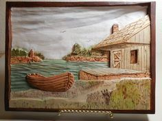 Relief wood carving gallery for Clarence Born. Harrison Smith, American Country, Canes, Dremel, Pyrography, Wood Carving, Wood Art, Wood Crafts, Wood Projects