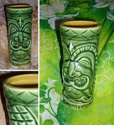 I love vintage tiki mugs