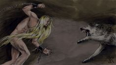 The last battle of Finrod Felagund