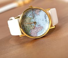 Retro Atlas WatchWrist WatchLeather WatchBest Chosen by diy4fun, $18.99