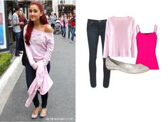 Ariana Grande Outfit Inspiration <3