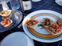 Un buon aperitivo su #miguelcatamaran all' #asinara