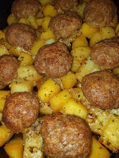 Greek Recipes, Meat Recipes, Cooking Recipes, Greek Meals, Recipies, Rice Pasta, Salad Dressing Recipes, Side Dishes, Sausage