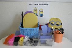 Activities at a Minion Despicable Me Party #despicableme #partyactivities