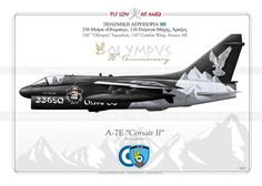 "A-7E ""Corsair II""  70th Anniversary ""Olympus"" HAF IK-81"
