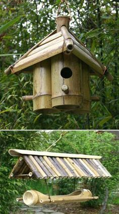 Your Home With Creative DIY Bamboo Crafts Decorate Your Home With Creative DIY Bamboo Crafts - Homesthetics .Decorate Your Home With Creative DIY Bamboo Crafts - Homesthetics . Diy Bamboo, Bamboo Poles, Bamboo Art, Bamboo Crafts, Bamboo Fence, Wood Crafts, Bamboo Ideas, Diy Wood, Bamboo Garden Ideas