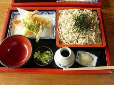 Japanese foods ~Tenpura  Buckwheat noodles ✯✯✯ http://goodfoodprincess.tumblr.com ✯✯✯