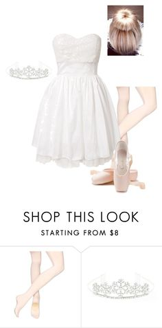 """""""The Nutcracker: Snowflake Queen"""" by briony-jae ❤ liked on Polyvore featuring Capezio and Sisters Point"""