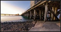 Long exposure of Wallaroo Wharf on sunset