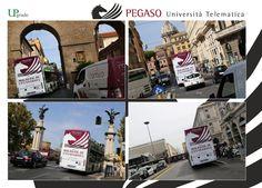 Pegaso: Università Telematica #pegaso #universitàtelematica #roma #italia #univesità #adv #advertising #pubblicitá #pubblicitàinmovimento #bus #upgrade #upgrademedia www.upgrademedia.it