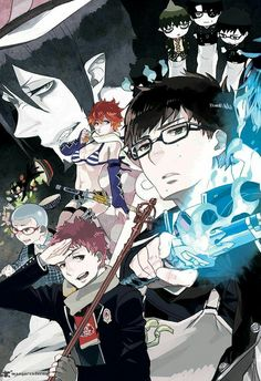 Ao no Exorcist 80 Page 2 - Anime Thing Blue Exorcist Mephisto, Blue Exorcist Anime, Ao No Exorcist, Rin Okumura, All Anime, Manga Anime, Anime Art, Fullmetal Alchemist, Manhwa