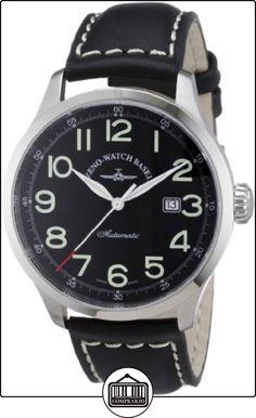 Zeno Watch Basel 6569-a1 - Reloj analógico automático para hombre con correa de piel, color negro de  ✿ Relojes para hombre - (Gama media/alta) ✿