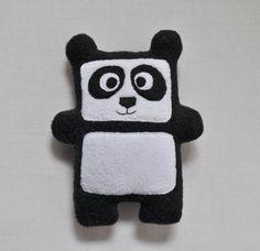 The Panda Plushie / Hand made plush, doll