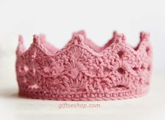 Free Crochet Baby Crown Pattern