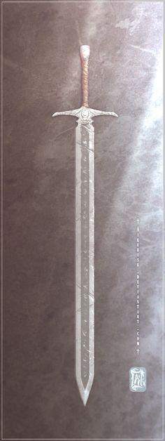 Shadowsbane Blade by Aikurisu.deviantart.com on @deviantART