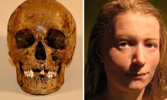 """Raspberry girl"" died 5000 years ago -  here is how she looked. Falbygdens museum has recreated the woman's face. With the help of a doll-maker and modern technology her face was re -created for an exhibition on ""Raspberry girl´s"" last time in life.  1943 found the bones in Rogestorps bog outside Falköping, Sweden. It showed that ""Raspberry girl"" died a violent death for 5000 years ago and the name came about because she  was found with stomach full of raspberry seeds."