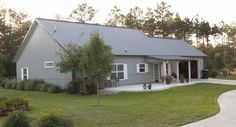 Morton Buildings custom home in Magnolia, Texas.