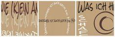 pamelopee: Wanddeko - Sprüche für den Bilderrahmen