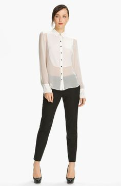 Elizabeth and James 'Charlie' Tuxedo Shirt available at #Nordstrom
