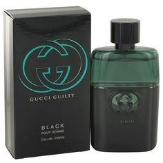 Gucci Guilty Black by Gucci Eau De Toilette Spray 1.6 oz (Men)