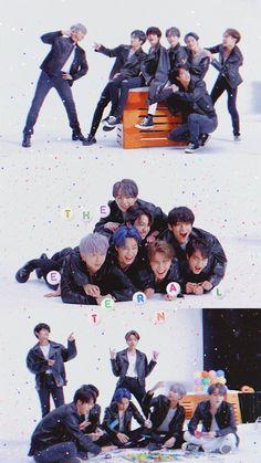 BTS Comeback Special: We Purple You Lockscreens // Wallpapers Bts Blackpink, Bts Taehyung, Bts Bangtan Boy, Namjoon, Foto Bts, K Pop, Bts Lockscreen, Bts Group Photos, Bts Aesthetic Pictures