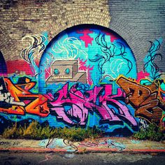 Berwick Place, SOMA, San Francisco Graffiti street art Murals
