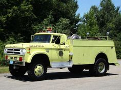 1974 Dodge Power Wagon Brush Truck
