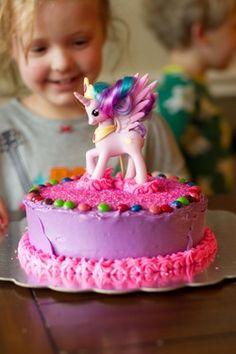 Gluten/Wheat free, egg free My Little Pony birthday cake