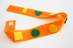Team Umizoomi: Geo's shape belt - make out of felt.