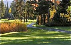 McCall golf course, in the fall.