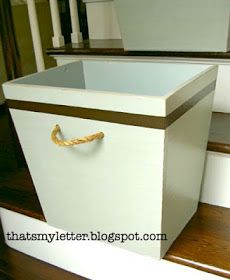 """That's My Letter: """"M"""" is for Mudroom Bins #4"""