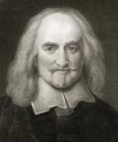 Thomas Hobbes (1588 - 1679) saw a person born into the natural state of life that is solitary, poor, nasty, brutish and short. To overcome these shortcomings, people enter into a social contract ...