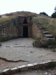 Agamemnon's tomb near Mycenae, Greece