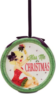 Kiss Me it's Christmas, 120mm Blinking Ornament - Hiccup - Pavilion