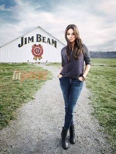 Mila Kunis has officially teamed up with Jim Beam bourbon!