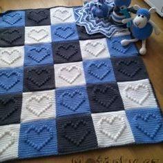 Crochet Bobble Blanket, Baby Cardigan Knitting Pattern, Crochet Bedspread, Granny Square Crochet Pattern, Crochet Blanket Patterns, Diy Crafts Crochet, Crochet Home, Crochet Baby, Free Crochet