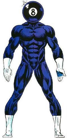 8-ball - Eight-ball - Marvel Comics - Sleepwalker enemy