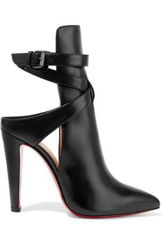 CHRISTIAN LOUBOUTIN Pointipik 100 Leather Pumps. #heels #shoes