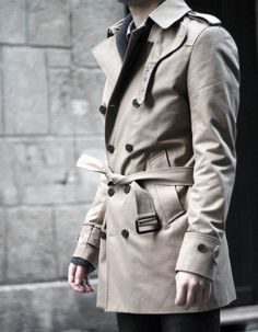 I'd wear a trench over a Jacket anyday