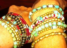 Pull tie bracelets Can be purchased at Studio Phi. Call for additional information. 775-826-5555