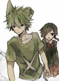 Nega mogeko and Yonaka ~ Mogeko Castle