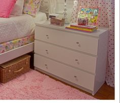 Malm wi crystal knobs