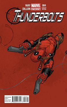 Sam Johnson Comics: Marvel NOW! Thunderbolts Variant Covers