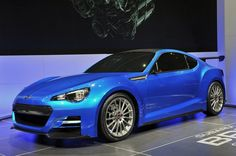 Subaru has debuted its BRZ Concept STI – a look at what could happen if the new coupe is left in the hands of Subie's in-house performance tuning division.
