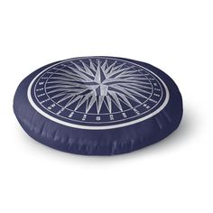 You'll love the Melton Compass Round Floor Pillow at Wayfair - Great Deals on all Décor & Pillows products with Free Shipping on most stuff, even the big stuff.
