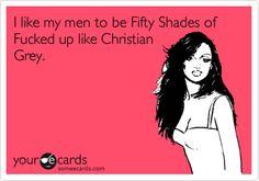 Fifty Shades of Grey - Christian Grey.
