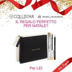 8e6e4e96ced7be Confezione Regalo Pochette Piquadro contenente MASCARA ART DESIGN® NERO +  Matita Kajal Occhi Nera.